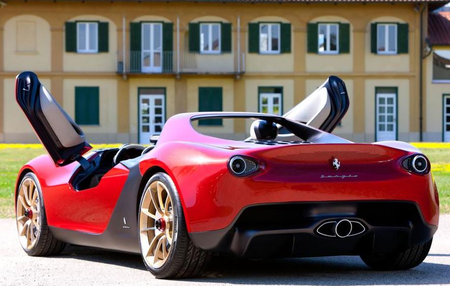 Chiếc Ferrari Pininfarina Sergio có giá bán rất cao ngoài thị trường