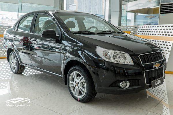 Danh sách các loại xe ô tô 4 chỗ giá rẻ - Chevrolet Aveo 2019