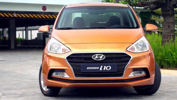 Các loại xe ô tô 4 chỗ giá rẻ có thương hiệu Hyundai với xe Grand i10