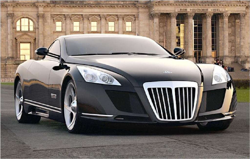 Siêu xe Mercedes-Maybach Exelero
