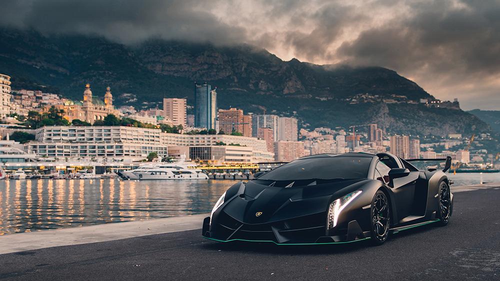 Siêu xe Lamborghini Veneno Roadster